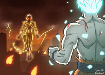 Goku VS Freezer by DarioCld