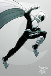 Moon Knight - The Fist of Khonshu by DarioCld