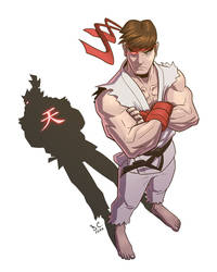Ryu - Shadow of the Fighter