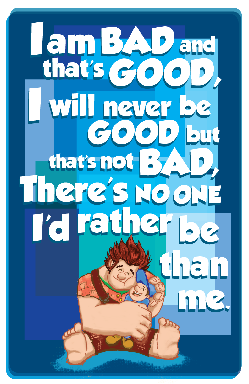 Bad Guy Affirmation by NickEck