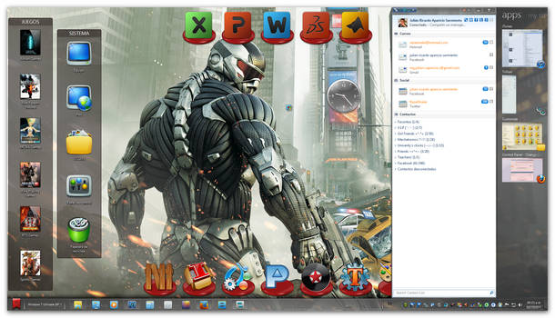 My October Desktop