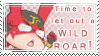 Time to let out a WILD ROAR stamp - Barnaby ver by raynubu