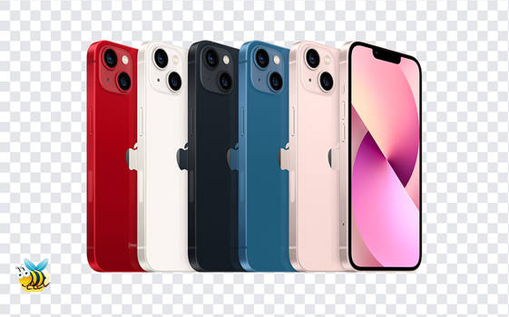 Apple iphone 13 Colors PNG
