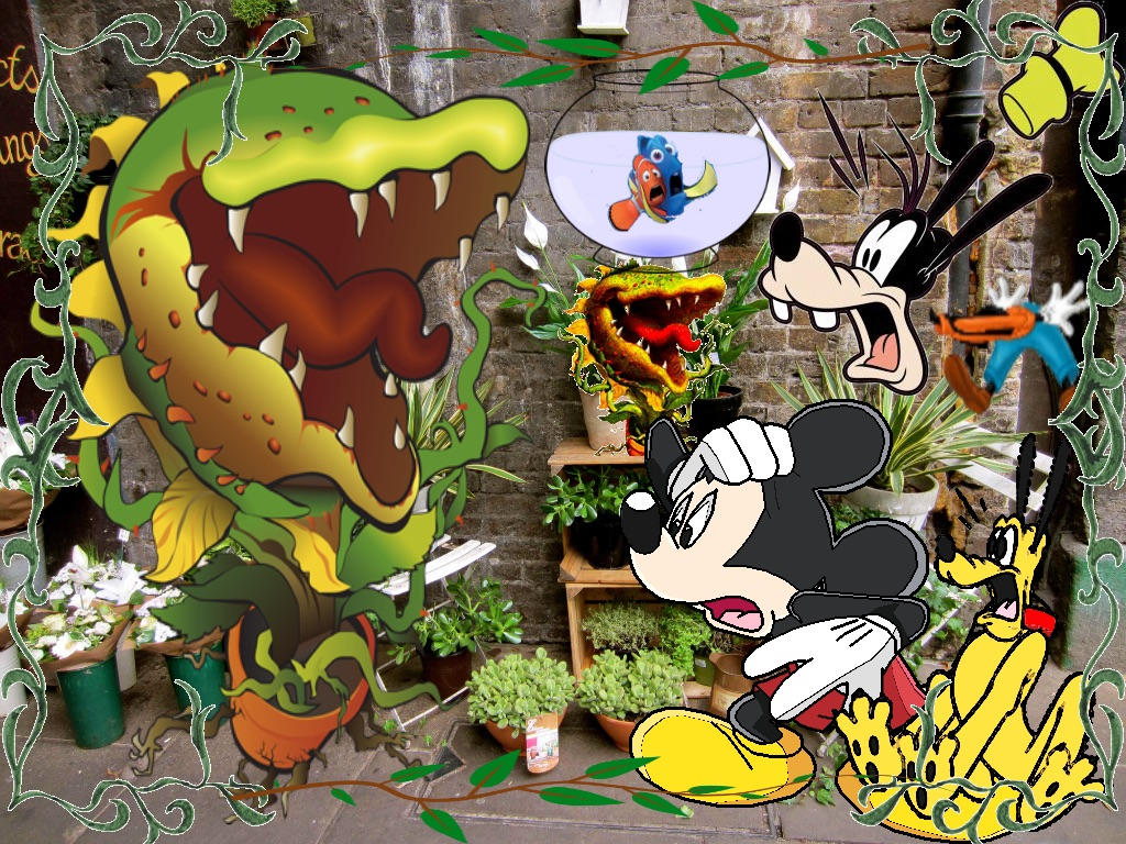 Mickey S Little Shop Of Horrors By Islanderfan91 On Deviantart