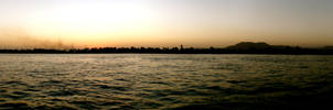 Panorama Sunset by Bambi-Claire
