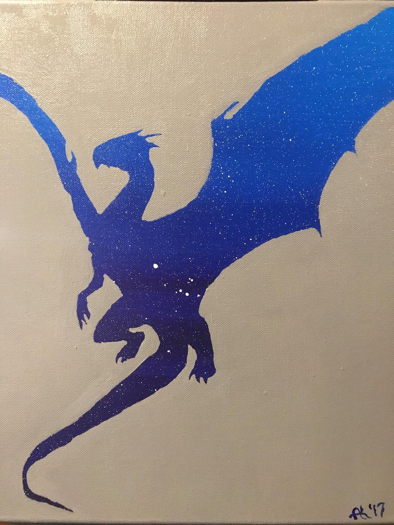 Midnight Dragon by Alycat