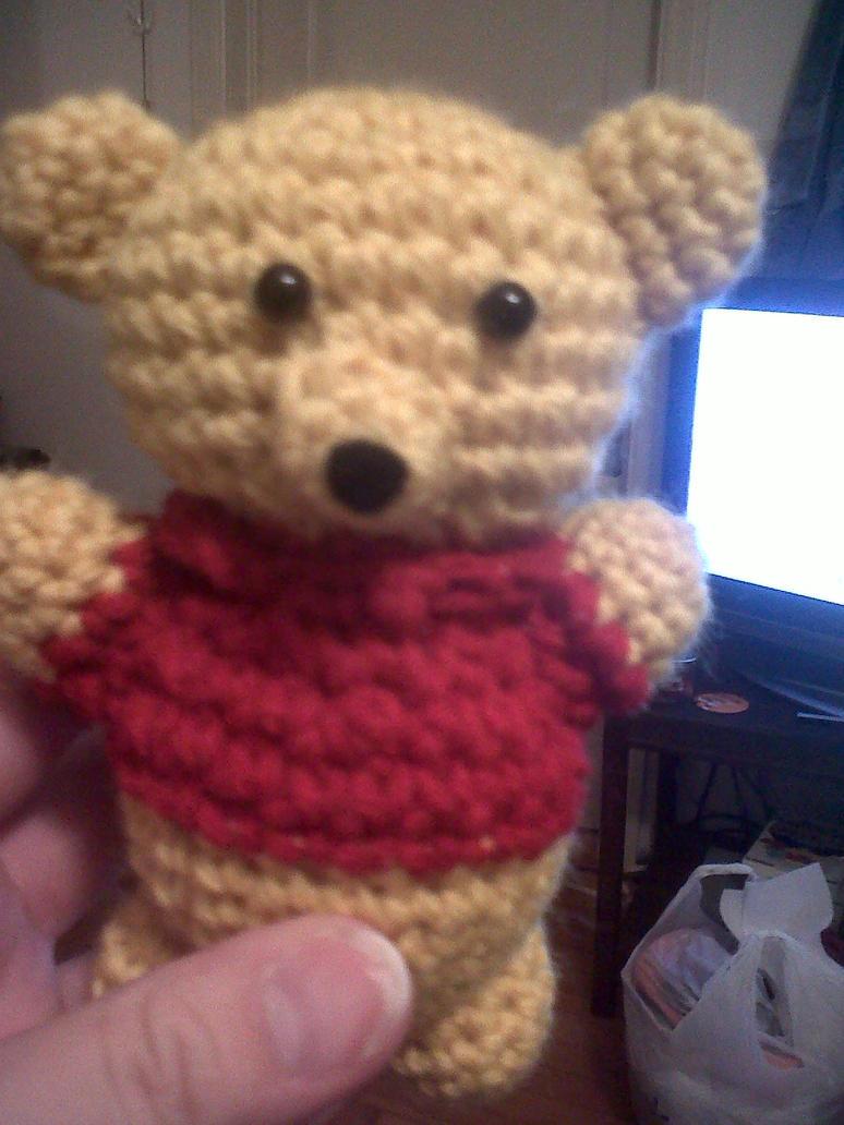 Amigurumi Winnie De Pooh : Winnie The Pooh Amigurumi by Slowdance-Romance on DeviantArt