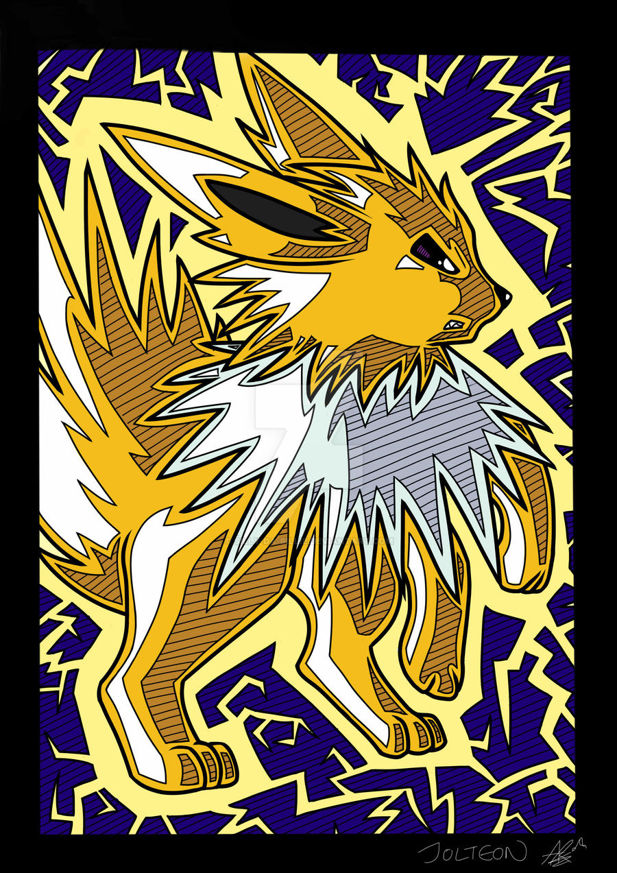 Jolteon by Silly-Da-Billie