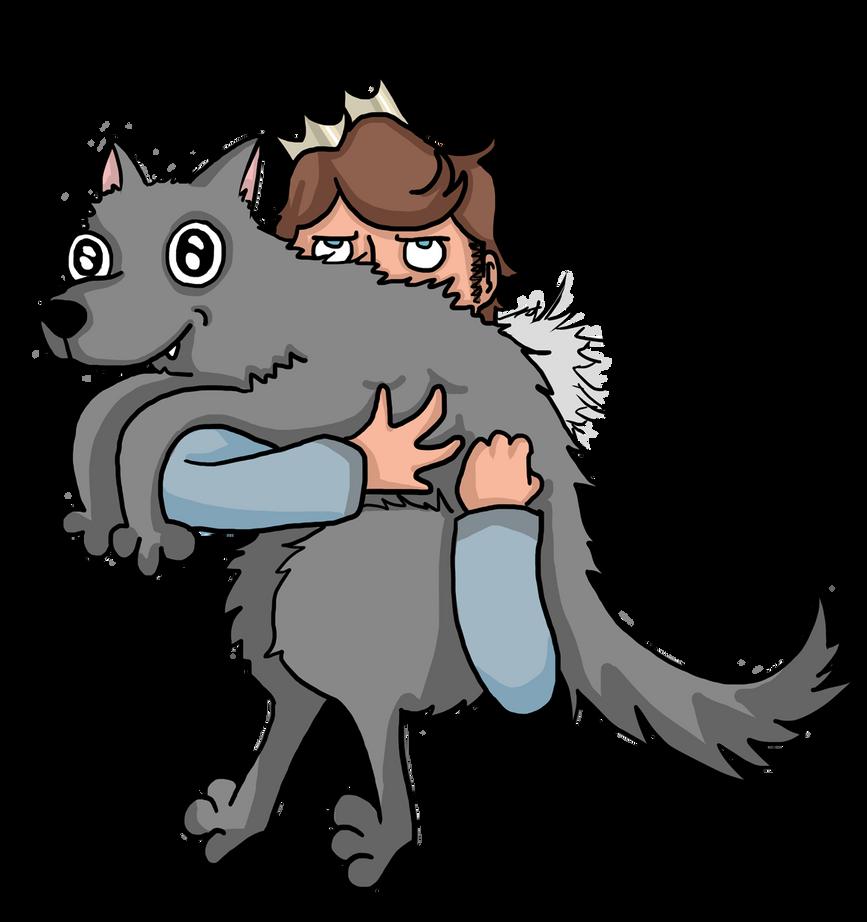 Robbcarrieswolfaround by Sassgardian