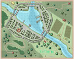 Small town map by Enerla