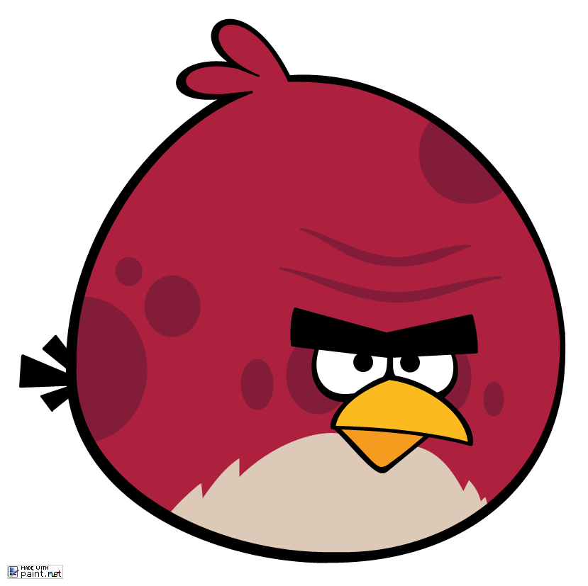 How To Draw Pink Angry Bird