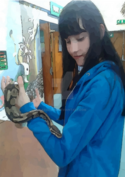 The Girl And The Snake