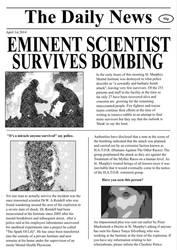 Newspaper Report