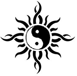 Ying Yang Tattoo by bonging-nic