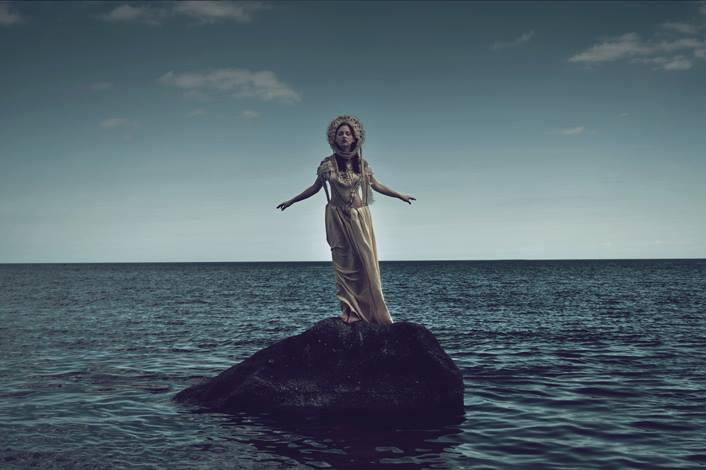 quiet sea by AgnieszkaOsipa