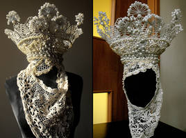 slavic bride crown by AgnieszkaOsipa