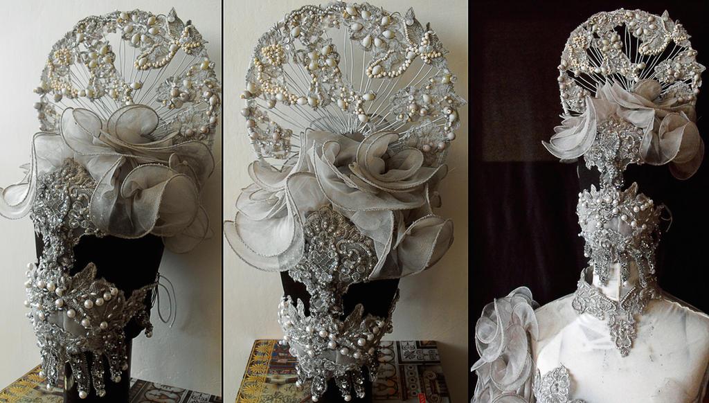 headpiece/mask by AgnieszkaOsipa