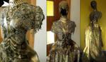 armor gown/ handmade by AgnieszkaOsipa