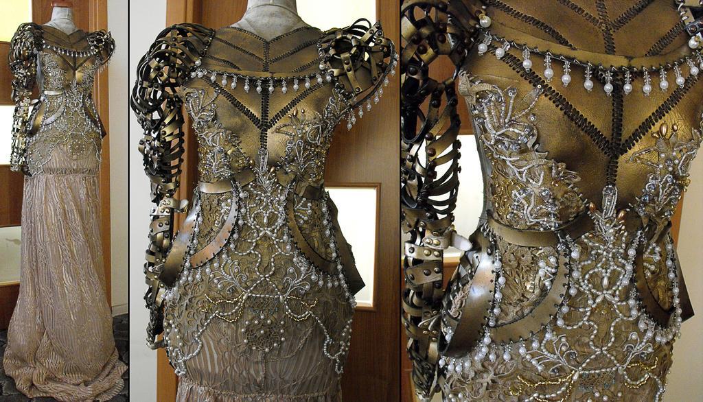 armor/gown by AgnieszkaOsipa