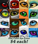 Eye Icons by Octobertiger