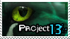 Project 13 Stamp- Feather by Octobertiger