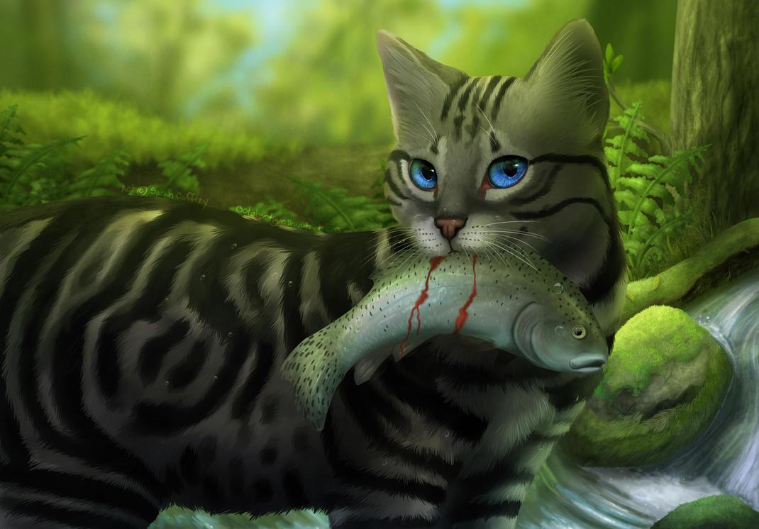 Výsledek obrázku pro warriors cats silverstream and graystripe