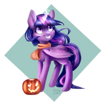 :Autumn Ponies: Twilight Sparkle by Kukseleg