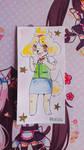 Inktober Day 1 Isabelle