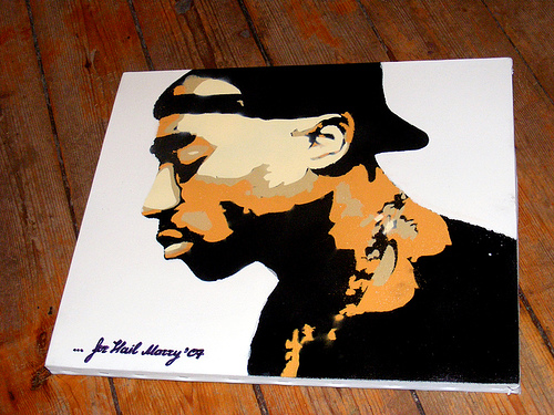 2pac Stencil By Sys68esc On DeviantArt