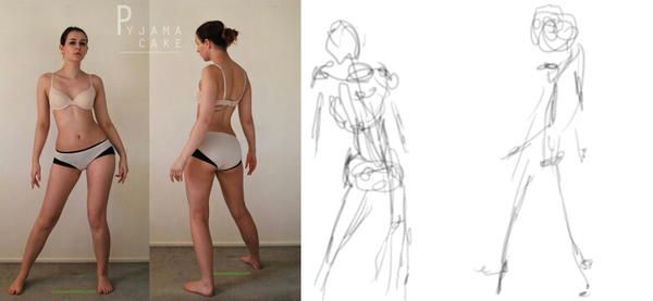 Character Design: Gesture Drawing by aDesertwind