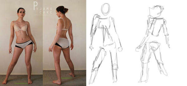 Character Design: BUILDING THE FIGURE by aDesertwind