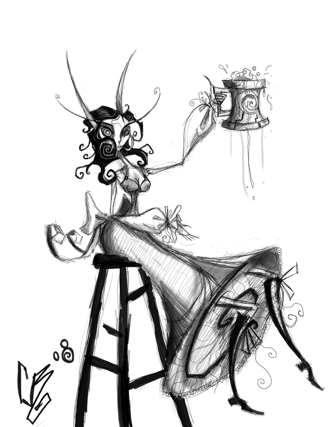 WoW Art Generic Elf Two by BunnyBennett