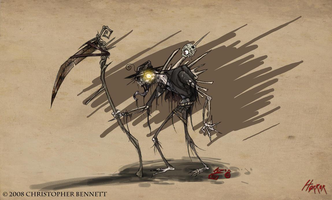 Wow Art - Horror by BunnyBennett