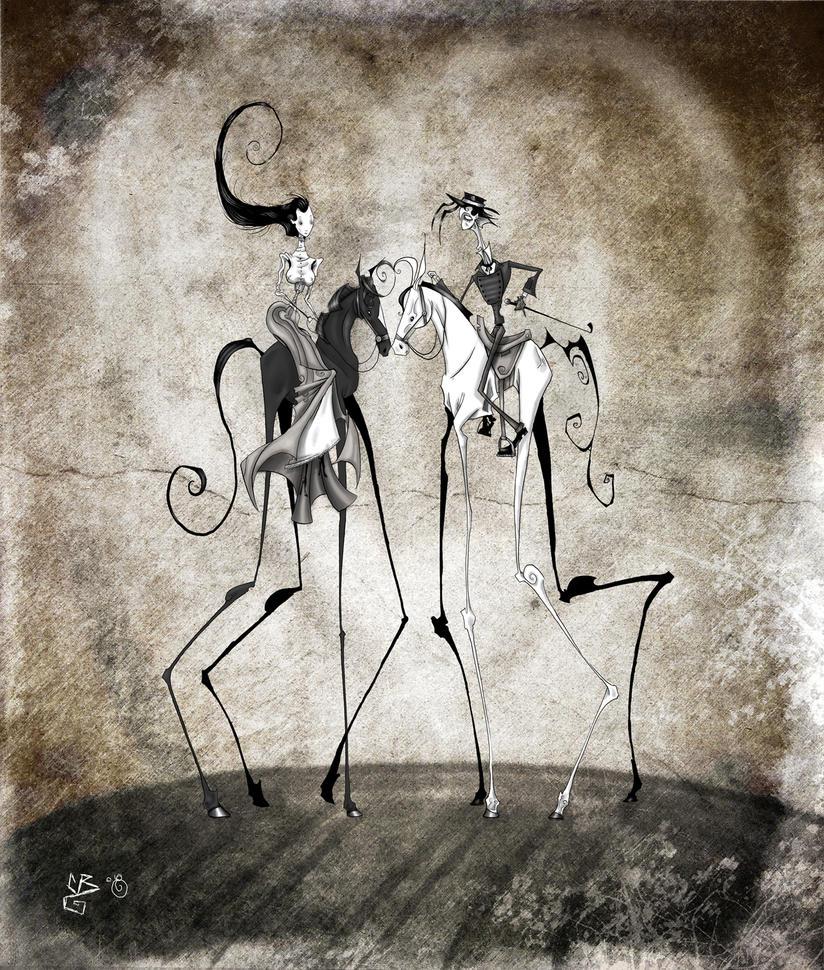Gothic Romance III by BunnyBennett