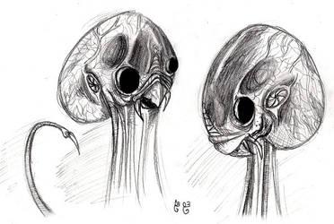 War of the Worlds Martians by BunnyBennett