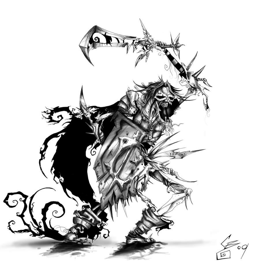 Undead Warrior by BunnyBennett