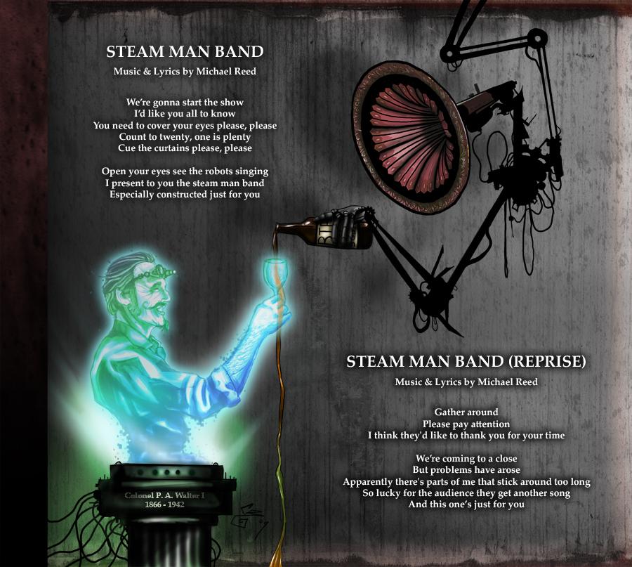 Steam Man Band by BunnyBennett