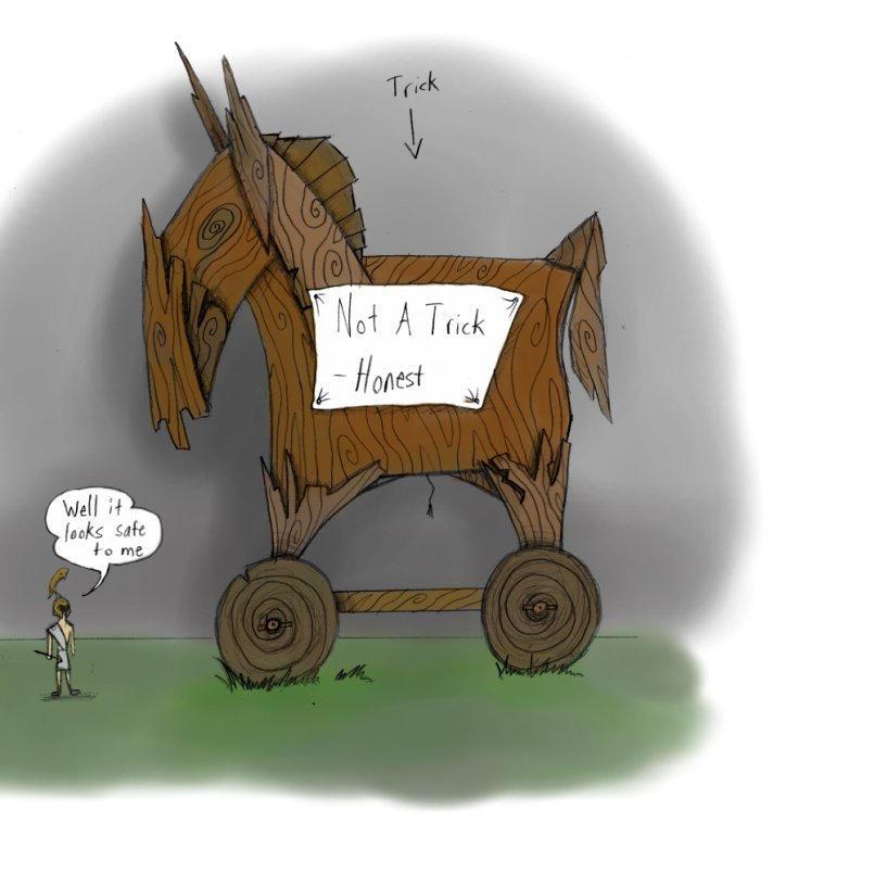 The Trojan Horse Picture, The Trojan Horse Image