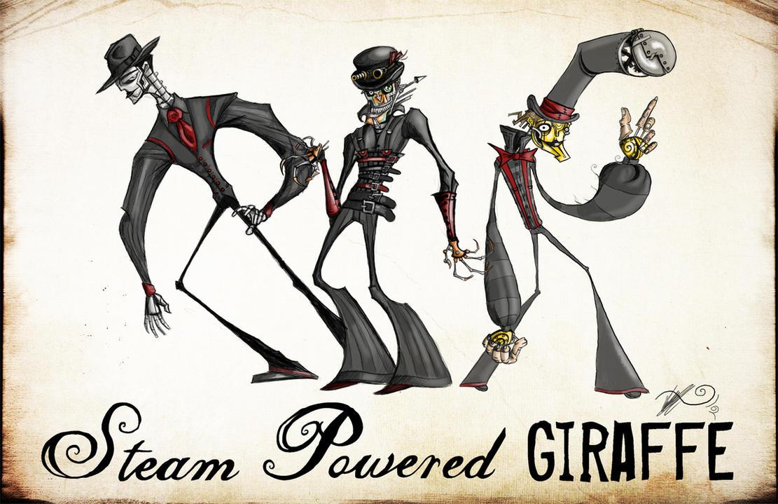 Steam Powered Giraffe Desktop Wallpaper
