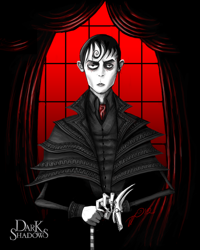 Portrait of Barnabas Collins by BunnyBennett