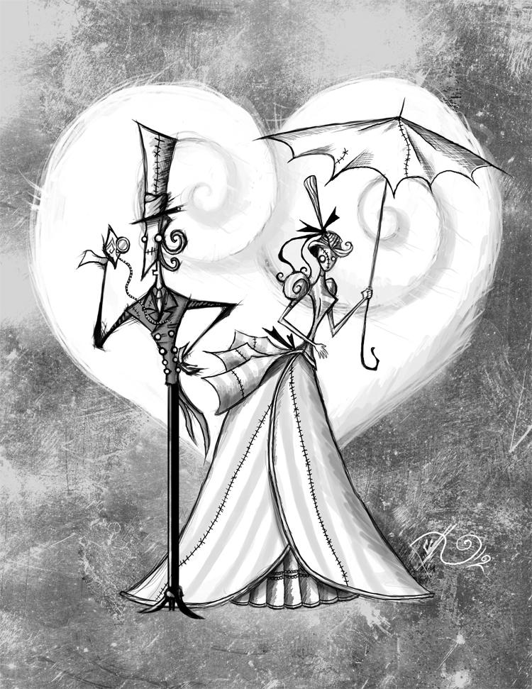 Gothic romance v by bunnybennett