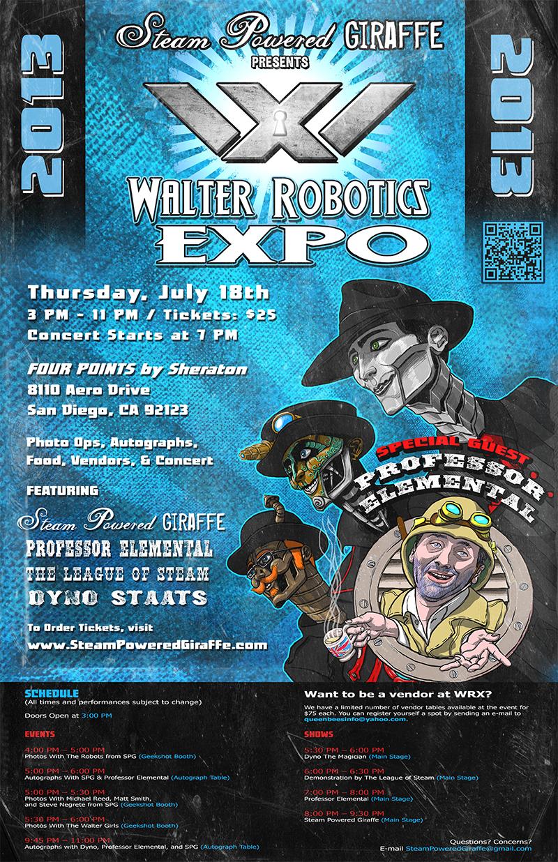 Walter Robotics EXPO 2013 by BunnyBennett