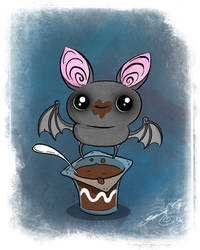 Pudding Bat by BunnyBennett