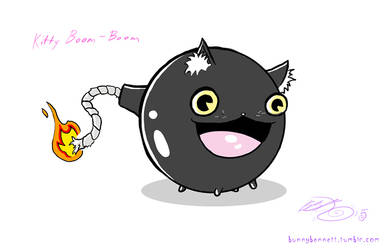 Kitty Boom-Boom by BunnyBennett