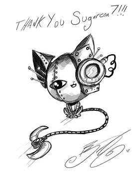 Doodle - Robot Kitty