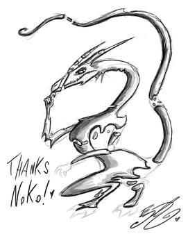 Doodle - Schrodinger's Dragon