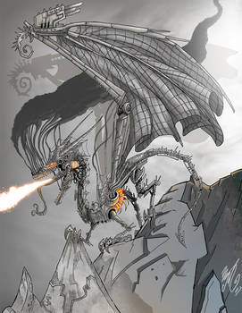 Alice The Steam Dragon of Veker