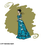 Lucy's Opera Gown