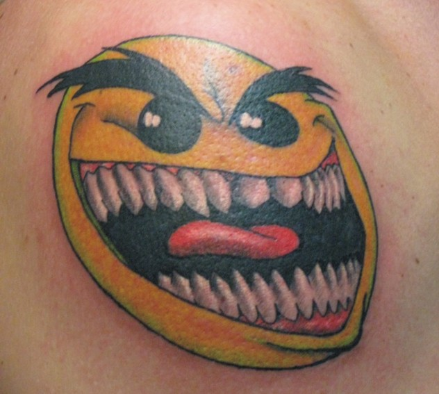 Psycho Smiley Face by Mr-Taboo