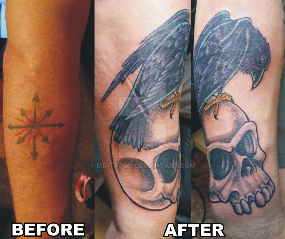 Crow Cover Up by Mr-Taboo